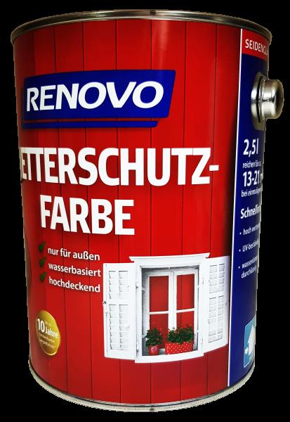 2,5 L Renovo Wetterschutzfarbe Nr.5014 taubenblau