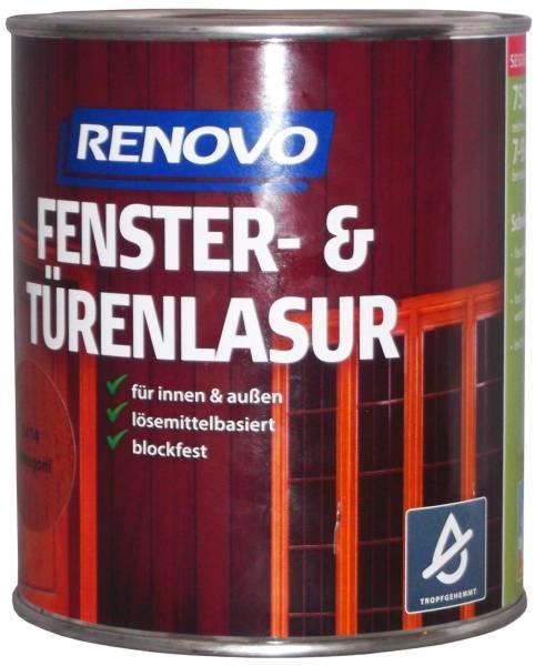750ml Renovo Fenster&Türenlasur Nr.8412 teak