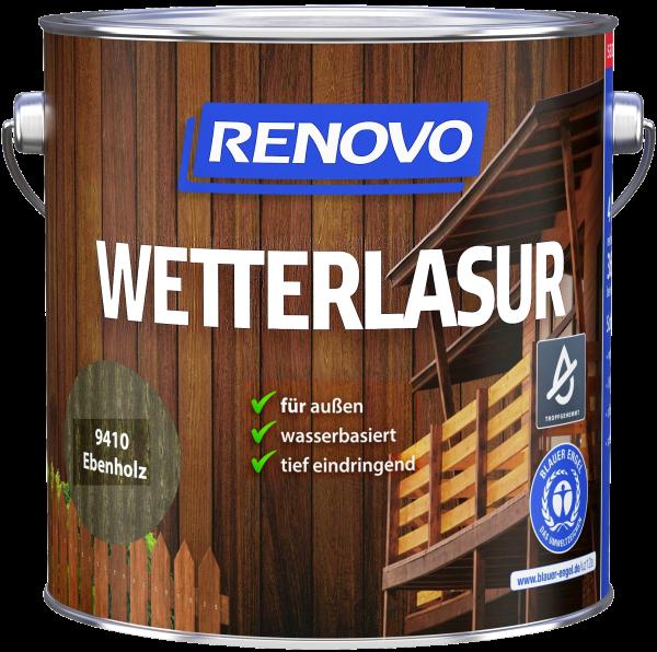 4L Renovo Wetterlasur wb. Nr.9410 ebenholz