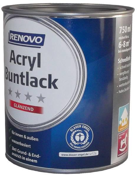 750ml Renovo Acryl 2in1 Glänzend 0096 altweiß
