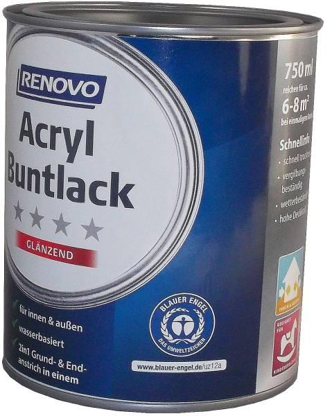 750ml Renovo Acryl Glanzlack Nr.0095 weiss