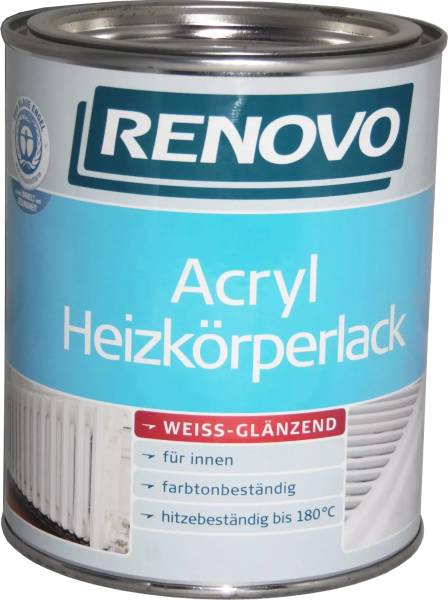 750ml Renovo Acryl Heizkörperlack weiss